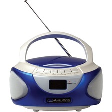 AmpliVox APLSL1015 Radio/CD Player BoomBox